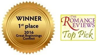 Winner of Great Beginnings contest & TRR Top Pick